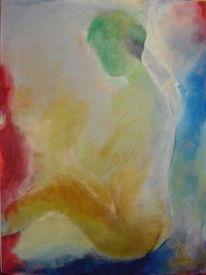 Abstrakt, 2014, Acrylmalerei, Malerei