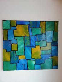 Modern, Acrylmalerei, Malerei, Abstrakt