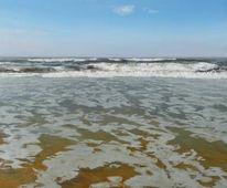 Meer, Malerei, Wasser, Strömung