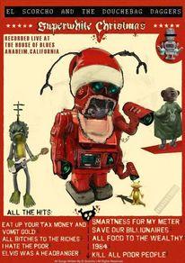 Weihnachten, Weltuntergang, Kaputt, Alien