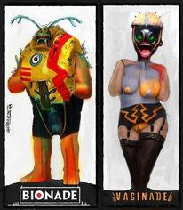 Bionade, Außerirdisch, Comic, Kaputt