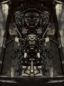 Abstrakt, Kabel, Fotografie
