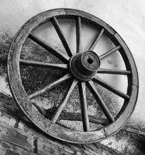 Rad, Schwarz weiß, Weiß, Fotografie