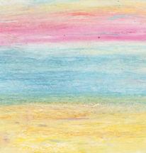 Abstrakt, Strand, Stimmung, Himmel