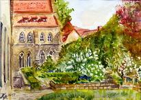 Klostergarten, Mai, Augustinerkloster, Erfurt