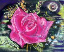 Pastellmalerei, Zeichnung, Rosa, Zeichnungen