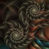 Fantasie, Fraktalkunst, Ornament, Digitale kunst