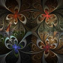 Fraktalkunst, Ornament, Fantasie, Digitale kunst