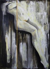 Zeitgenössisch, Malerei, Akt, Gemälde