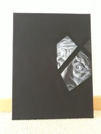 Alt, Geometrie, Dunkel, Gesicht