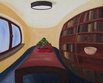 Perspektive, Verzerrung, Bonsai, Interieur