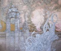 Symbolik, Landschaft, Barock, Baum