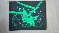 Abstrakt, Bunt, Gefühl, Malerei