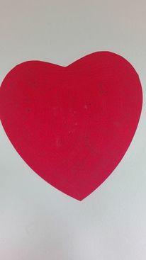 Rot schwarz, Liebe, Malerei
