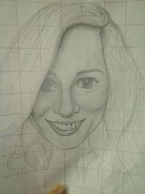 Frau, Freundschaft, Gesicht, Zeichnungen