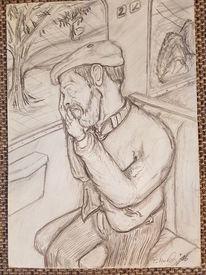 Figuren, Menschen, Papier, Zeichnungen