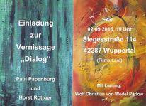 Informel, Röttger, Vernissage, Abstrakt