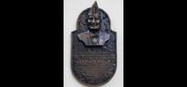 Portrait, Bronzeplaktte, Ehrentafel, Plastik