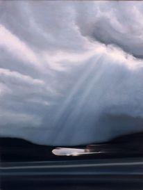 Wolken, Himmel, Licht, Flugzeug