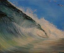 Wind, Welle, Malerei