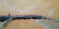 Malerei, Meer, Landschaft, Strand