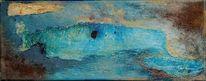 Blau, Wal, Natur, Abstrakt
