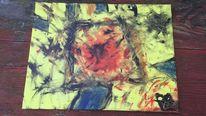 Kalt, Sommer, Gefühl, Malerei