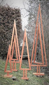 Weihnachten, Holz, Abstrakt, Projekt