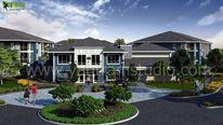 Architektur, Visualisierung, Immobilie, 3d