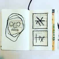 Mischtechnik, Surreal, Mystik, Symbol