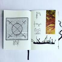 Malerei, Mystik, Mischtechnik, Surreal