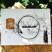 Surreal, Mystik, Symbol, Malerei