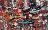 Zeitgenössische malerei, Abstrakte malerei, Abstrakte kunst, Moderne kunst
