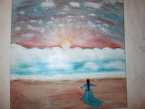 Freude, Gottes schöpfung, Anbetung, Malerei