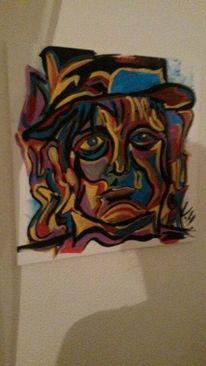 Psychose, Malerei