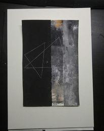 Surreal, Abstrakt, Schwarz, Malerei