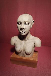 Figural, Skulptur, Akt, Figur