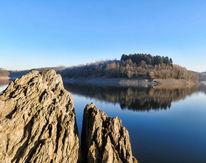 Wasser, Wald, Silvestervorstimmung, Felsen