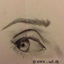 Schwarz, Zeichnung, Augen, Menschen