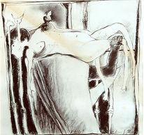 Akt, Gesellschaftskritik, Surreal, Expressionismus