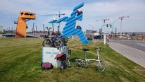 Fotografie, Brompton, Fahrrad, Skulptur