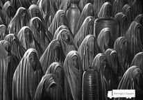 Freiwild, Lkw, Tuch, Burka