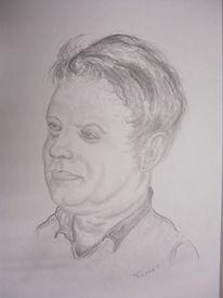 Mann, Bleistiftzeichnung, Freund, Zeichnungen