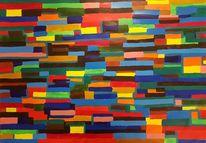 Abstrakt, Surreal, Mischtechnik, Malerei
