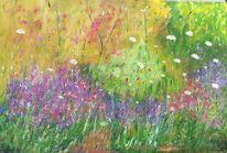 Kunstwerk, Hortensien, Artgallery, Pflanzen