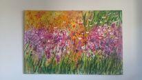 Acrylpainting, Monet, Artgallery, Wanddekoration