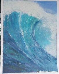 Welle, Perfekt, Wellenschlag, Surfen