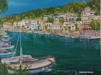 Boot, Stad, Mallorca, Hafen