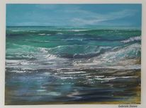 Zee, Welle, Surfen, Atlantik