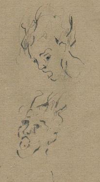 Rubens, Portrait, Höllensturz, Zeichnungen